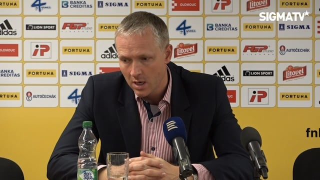 TK po utkání FN Ligy SK Sigma Olomouc vs...