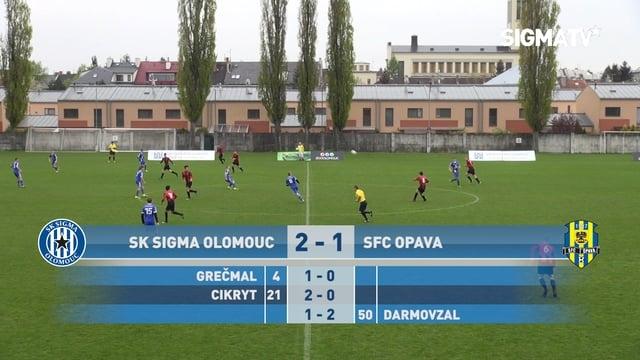 Sestřih utkání 16. kola SCM U17 JARO TOP...