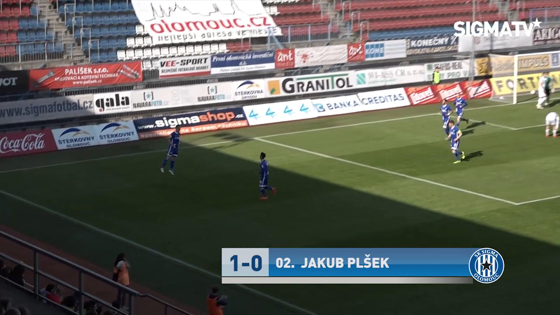 Sestřih utkání SK Sigma Olomouc vs. MFK ...