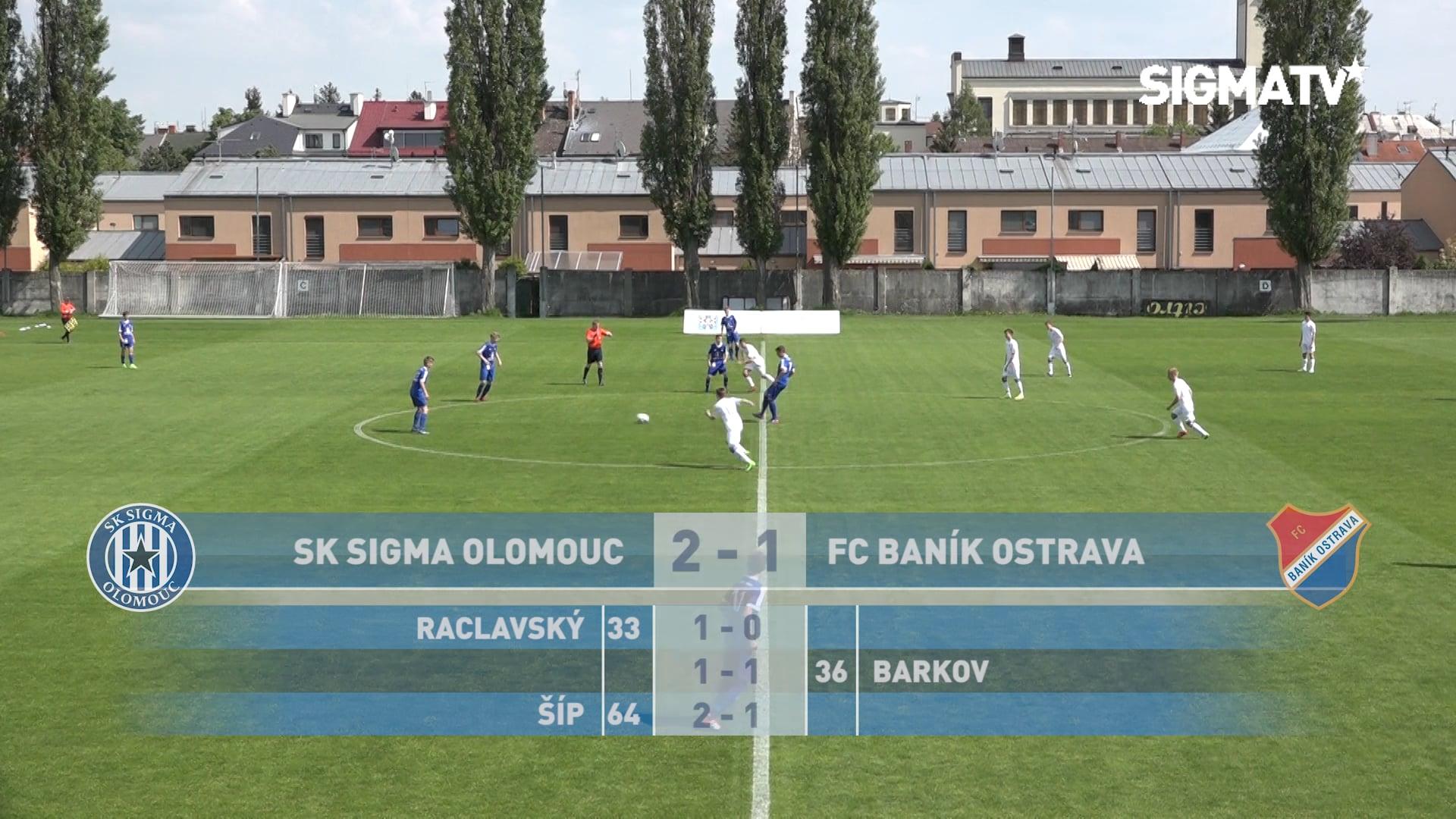 Sestřih utkání 32. kola SpSM-TOP U15