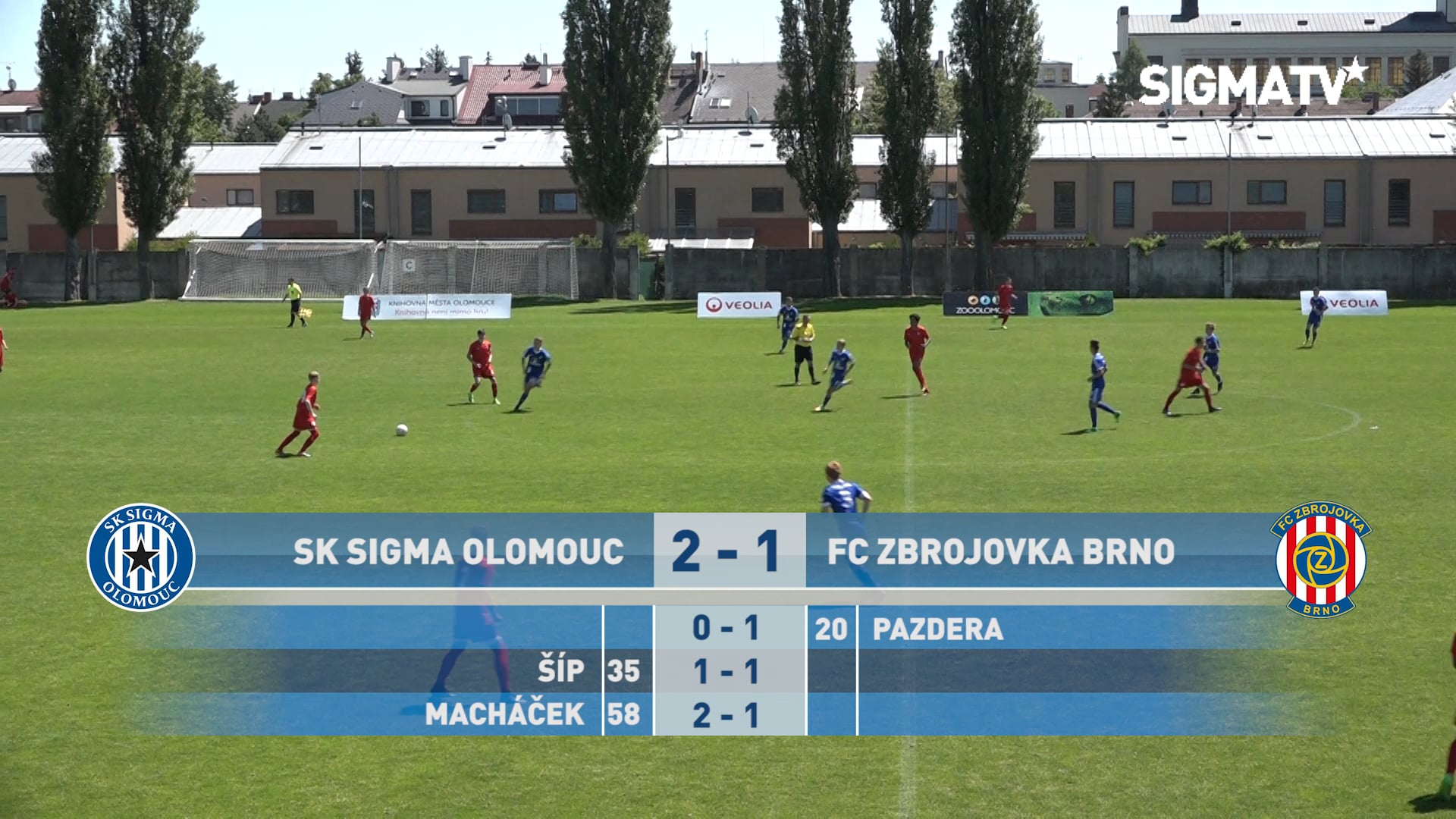 Sestřih utkání 12. kola SCM U16 JARO TOP...