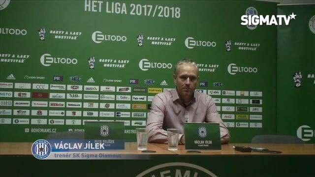 Trenér Václav Jílek hodnotí utkání 13. k...