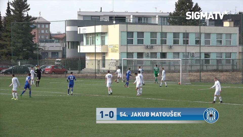 Sestřih utkání 21. kola 1. CL U19