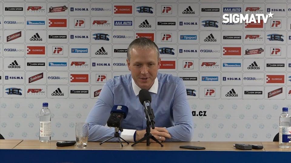Trenér Václav Jílek hodnotí utkání 21. k...
