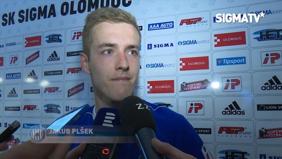 Záložník Jakub Plšek hodnotí utkání 23. ...