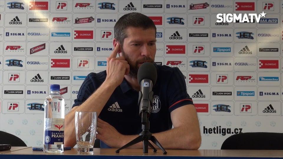 Asistent trenéra Ladislav Onofrej hodnot...