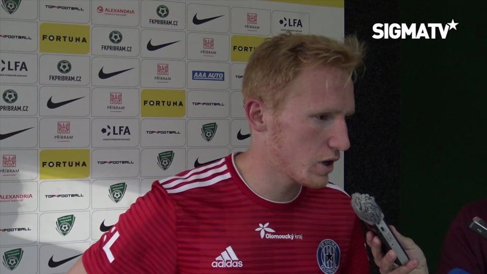 Obránce Václav Jemelka hodnotí utkání 8....