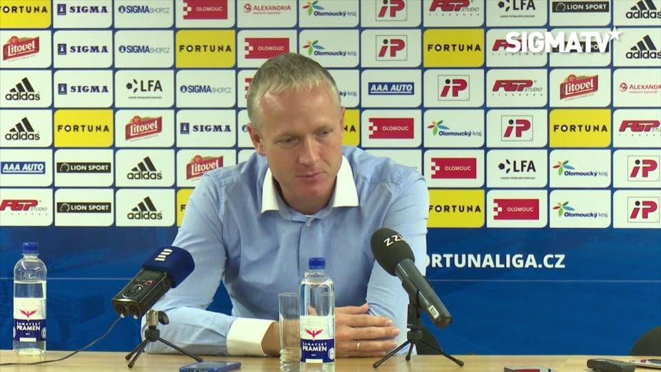 Trenér Václav Jílek hodnotí utkání 12. k...