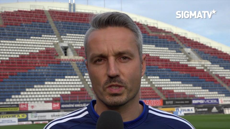 Trenér Tomáš Janotka a záložník Tomáš Zl...