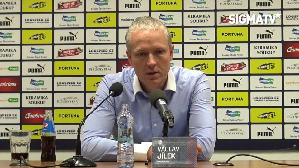 Trenér Václav Jílek hodnotí utkání 17. k...