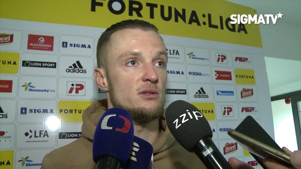 Útočník Martin Nešpor hodnotí vítězné ut...