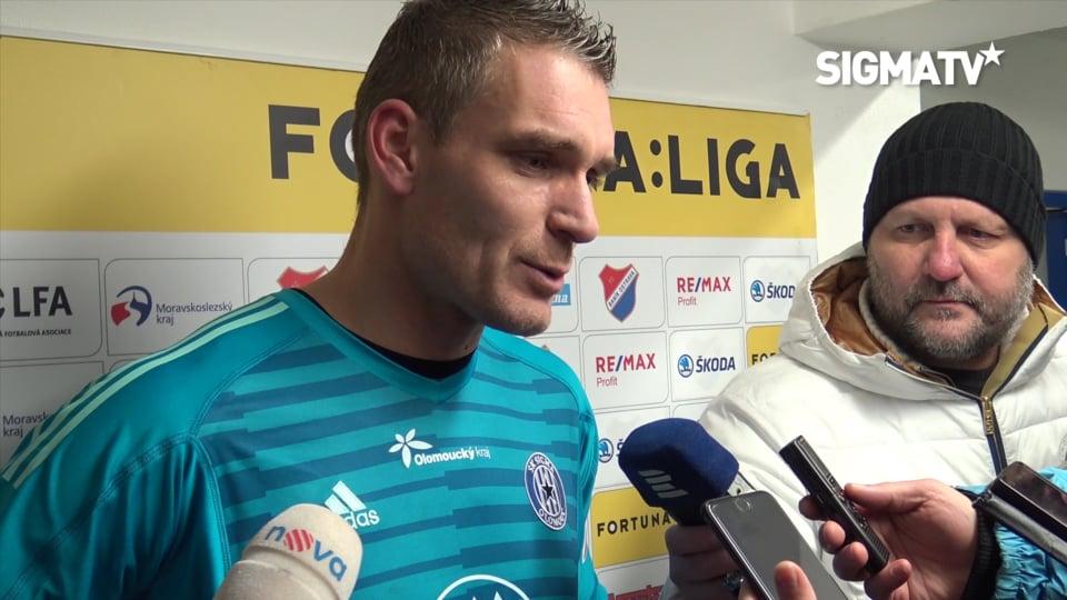 Brankář Miloš Buchta hodnotí utkání 19. ...