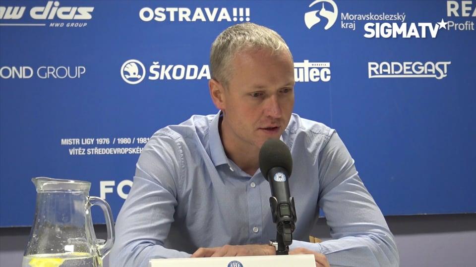 Trenér Václav Jílek hodnotí utkání 19. k...