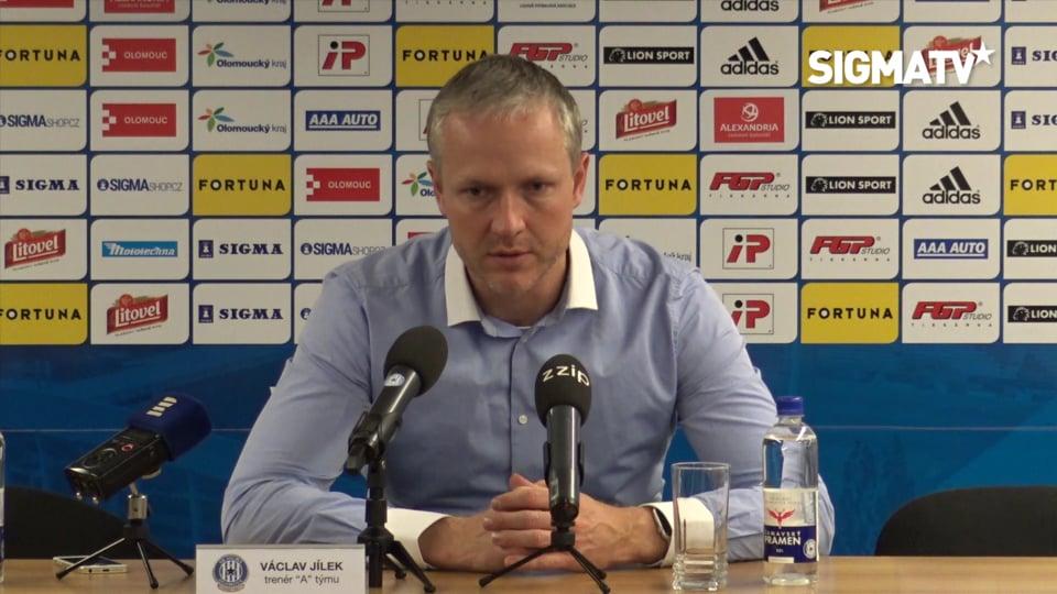 Trenér Václav Jílek hodnotí utkání 20. k...