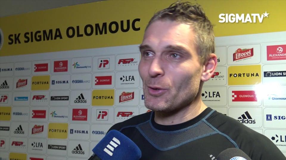Brankář Miloš Buchta hodnotí vítězné utk...