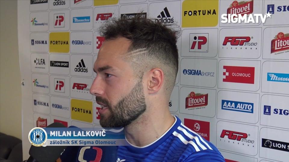 Záložník Milan Lalkovič hodnotí vítězné ...