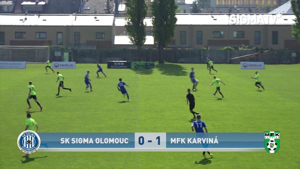 Sestřih utkání 30. kola MSDL st.