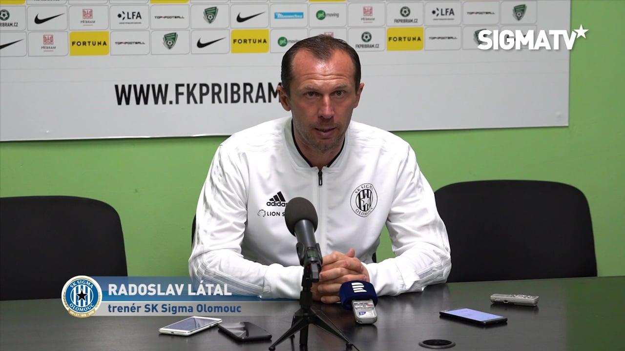 Trenér Radoslav Látal hodnotí utkání 12....