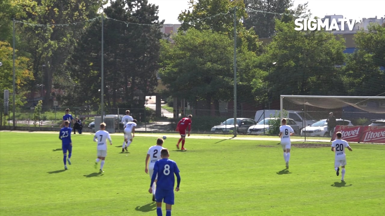 Sestřih utkání 10. kola MSFL