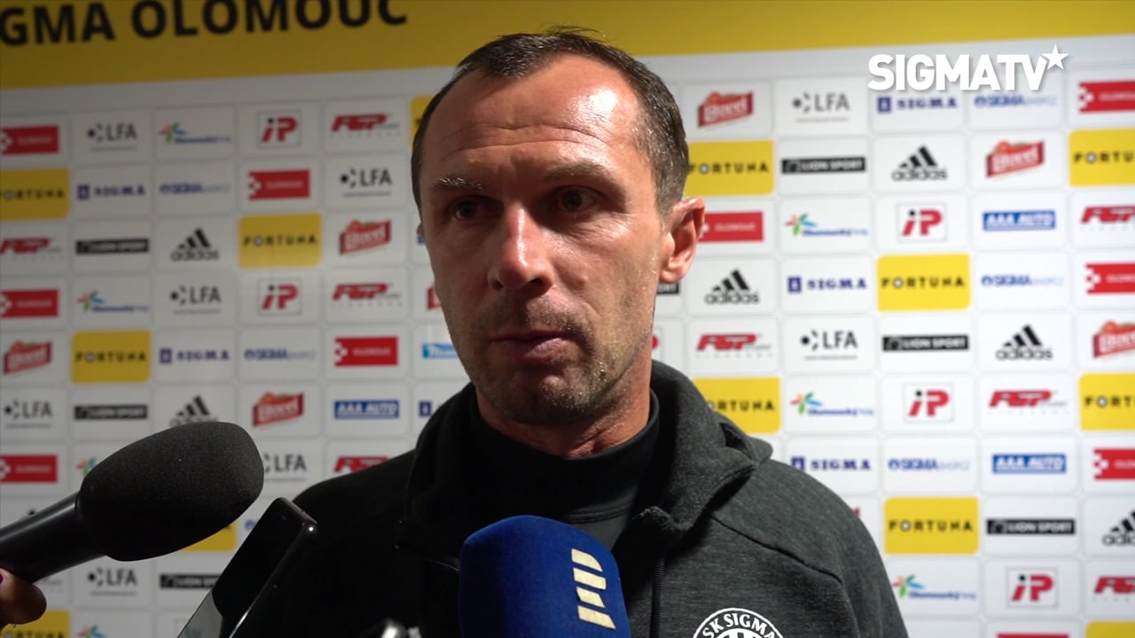 Trenér Radoslav Látal hodnotí vítězné os...