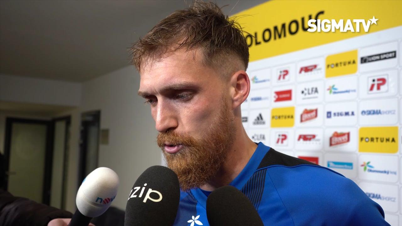 Obránce Milan Kerbr hodnotí utkání 15. k...
