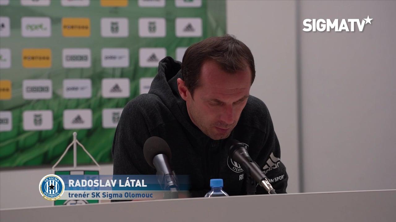 Trenér Radoslav Látal hodnotí utkání 18....
