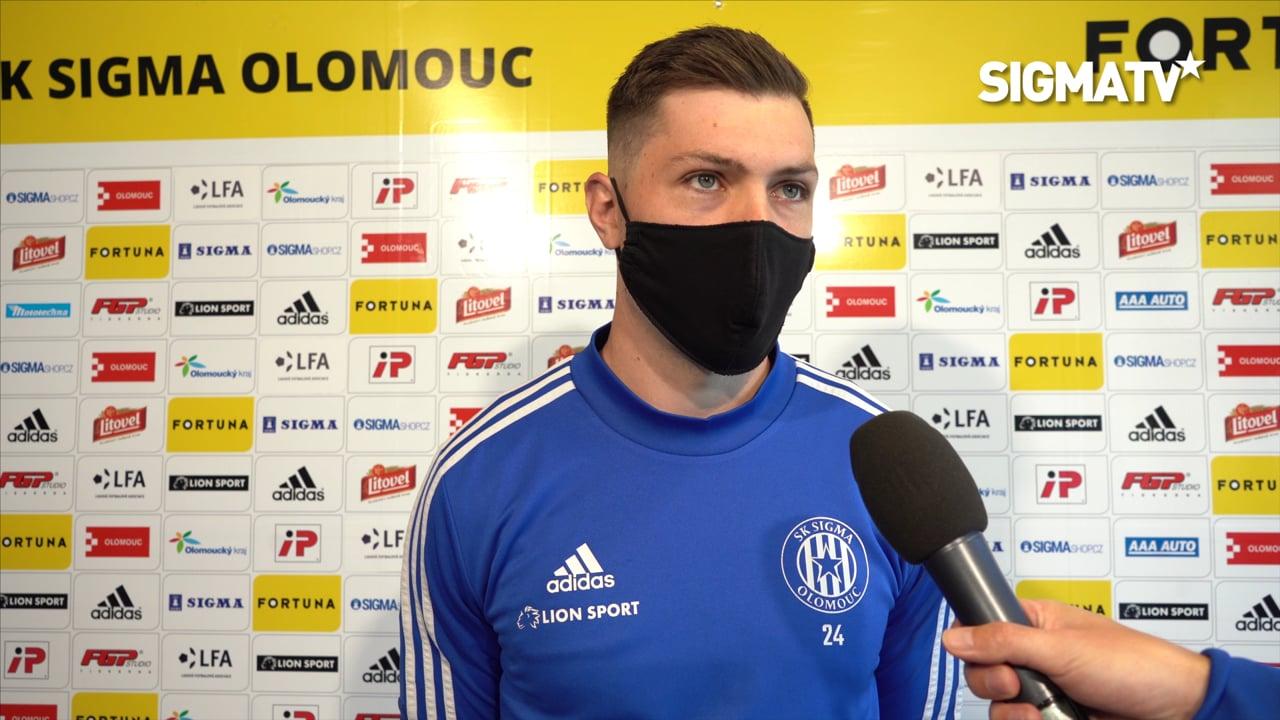 Trenér Radoslav Látal a brankář Aleš Man...