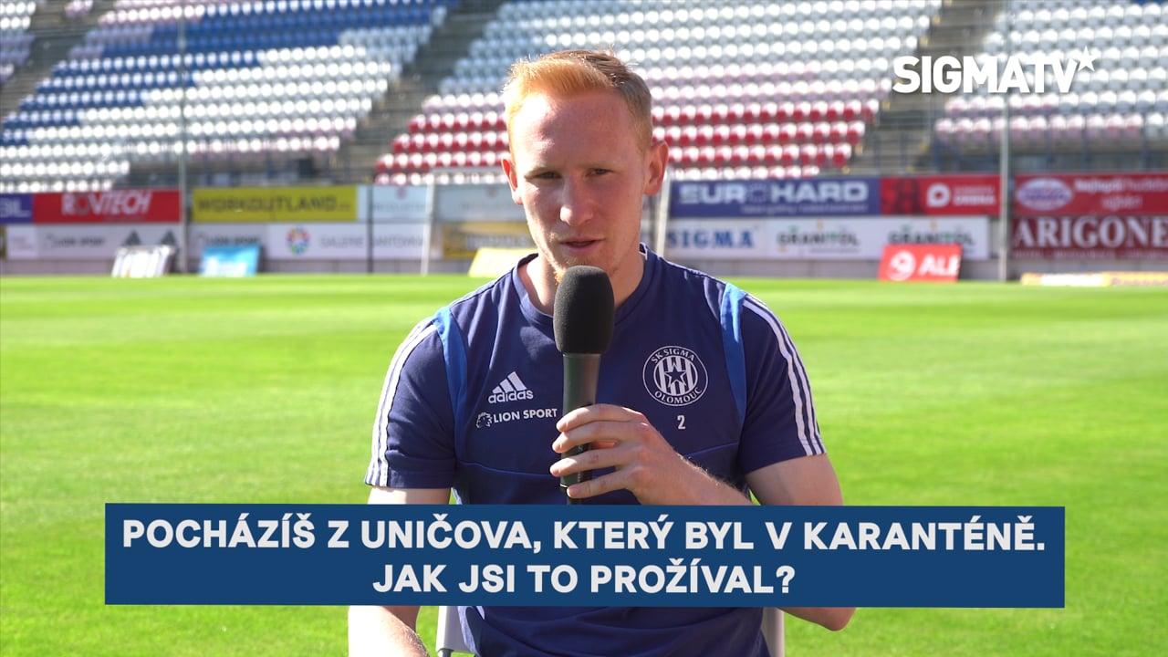 Obránce Václav Jemelka o přípravných utk...