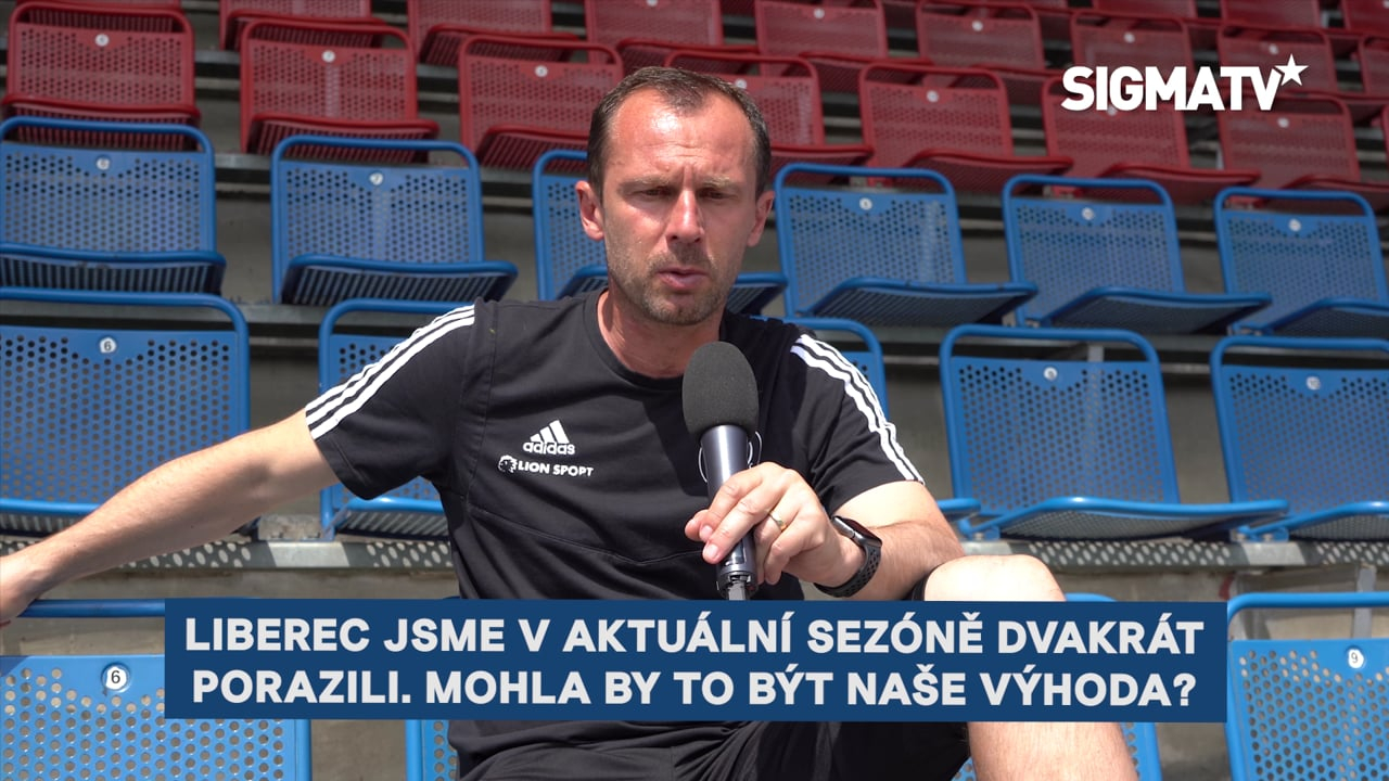 Trenér Radoslav Látal a obránce Martin H...