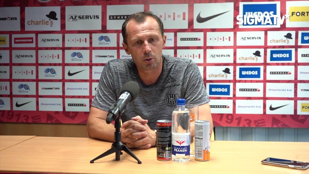 Záznam tiskové konference s trenérem Rad...